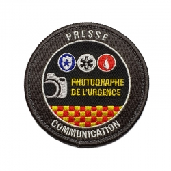 Ecusson photographe